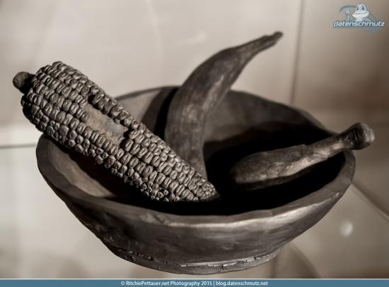 Black ceramics at Volcania museum