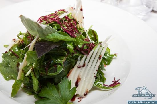 Arugula Salad at Ristorante Leonardo.